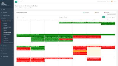 Calendario HTM Mantenimiento